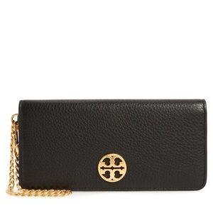 Tory Burch♥️NEW♥️Chelsea Leather Wristlet Wallet